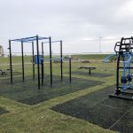New outdoor gym in place at Aberavon Seafront
