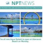 The New Aqua Splash attraction is opening Monday July 5th 2021