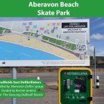Beach defibrillators installed on behalf of Sandfields East councillors.